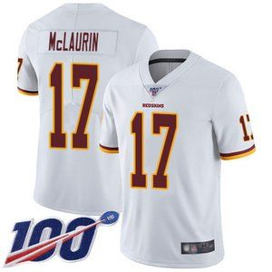 Redskins Terry McLaurin 100th Season Jersey 1
